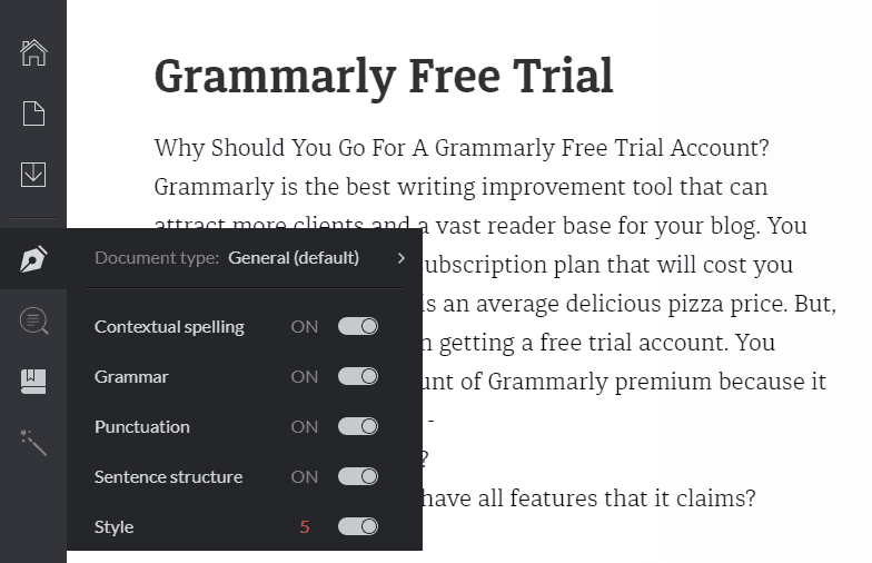 Grammarly Free Trial, Grammarly Premium Free Trial (11