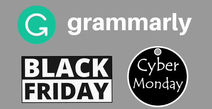 Grammarly Black Friday And Cyber Monday Offer