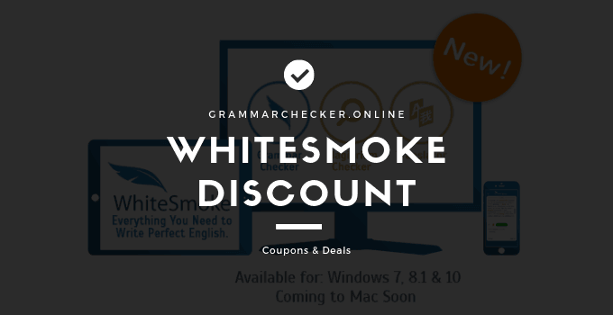 WhiteSmoke Discount